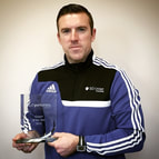 Stuart Guy South Yorkshire Sport Coach of the year winner 2015